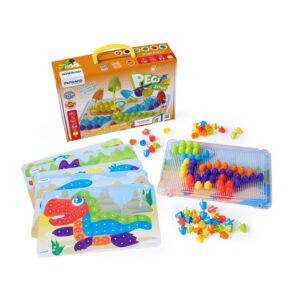 "Pegs ¾"" (90 pieces) - Bright Colors"