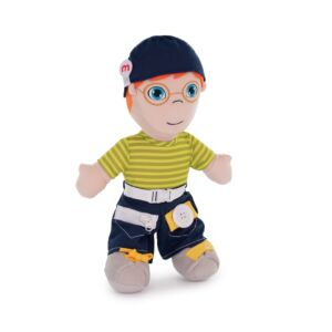 Diversity Fastening Soft Body Doll Caucasian Boy