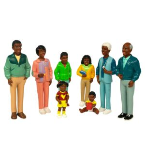 African Family (8 figures)