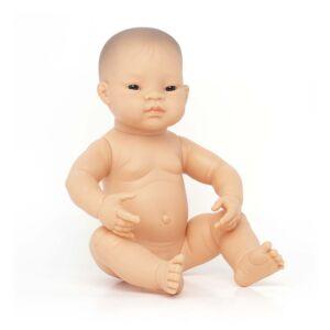 Newborn Baby Doll Asian Girl 40 cm