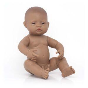 Newborn Baby Doll Hispanic Boy 40 cm