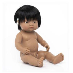 Baby Doll Hispanic Boy with Hearing Aid 38 cm