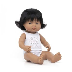 Baby Doll Hispanic Girl 38 cm