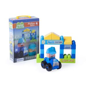 Super Blocks: Police Station (18 pieces)