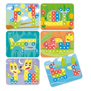 Superpegs: 6 Patterns Pack (Animals) Bright Colors