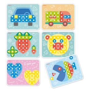 Superpegs: 6 Patterns Pack (City) Bright Colors