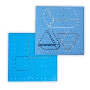 6 Geoboards Set (23 cm color)