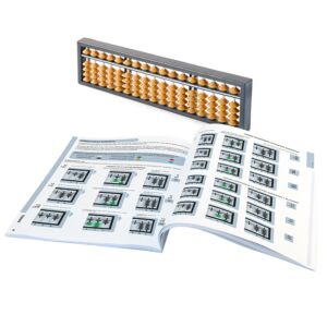 Soroban Abacus Set