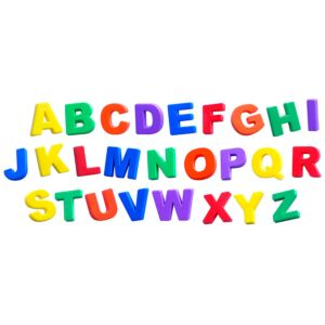 Magnetic Jumbo Letters (74 pieces)