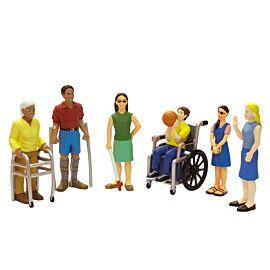 Handicapped Figures (6 figures)