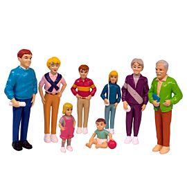 European family (8 figures)