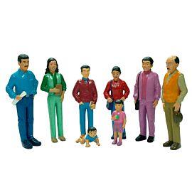 Hispanic Family (8 figures)