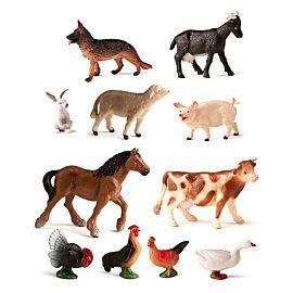 Farm Animals (11 figures)