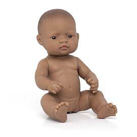 Baby Doll Hispanic Girl 32 cm