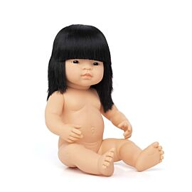 Baby Doll Asian Girl 38 cm