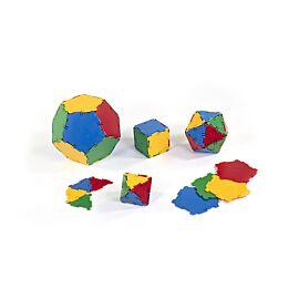 Platonic Solids Set 54 Pcs