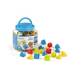 Superpegs (128 pieces) - Bright Colors