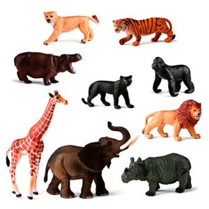 Animales de selva (9 unidades)