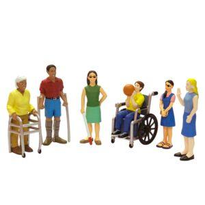 Figuras de discapacidades (6 unidades)