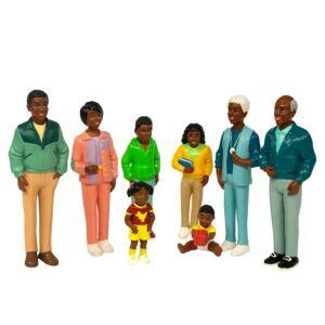 Familia africana (8 unidades)