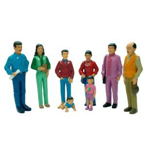 Familia latinoamericana (8 unidades)