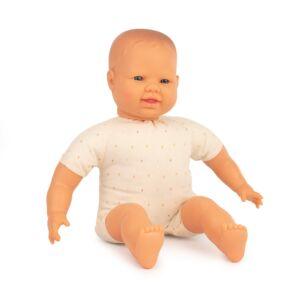 Muñeco con cuerpo blando de 40 cm europeo
