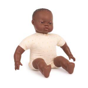 Muñeco con cuerpo blando de 40 cm africano