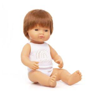 Baby pelirrojo niño 38 cm