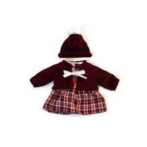 Conjunto frio vestido 38cm