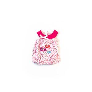Pijama calor puntos rosa 32cm