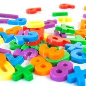 Números magnéticos (54 piezas)