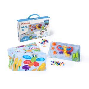 Pegs 10 mm (180 piezas) - Bright Colors