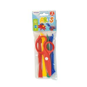 Set de accesorios para pasta blanda de 14 cm