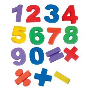 Números jumbo magnéticos (68 piezas)