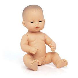 Muñeco bebé asiático 32 cm