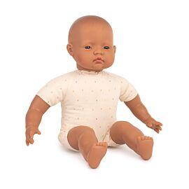 Muñeco bebé latinoamericano con cuerpo blando 40cm