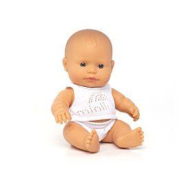 Muñeco bebé caucásico 21 cm