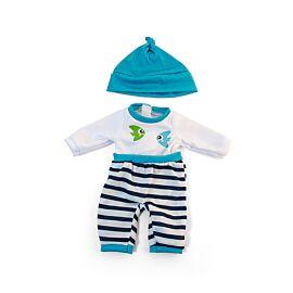 Pijama frío turquesa 32cm