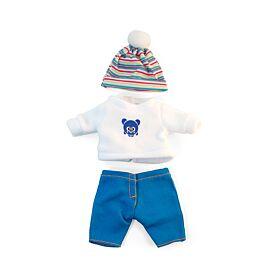 Conjunto frio jersey 21cm