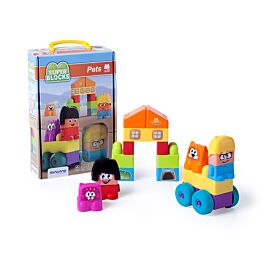 Super Blocks: Pets (20 piezas)