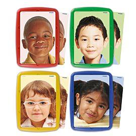 Set de 4 puzles: Niños del mundo