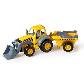 Súper Tractor con remolque