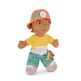 Muñeco blandito abroches diversidad latinoameric.