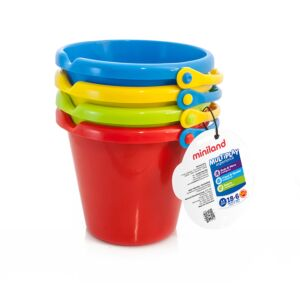 Set of 4 buckets
