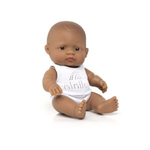 Baby Doll Hispanic Boy 8¼""