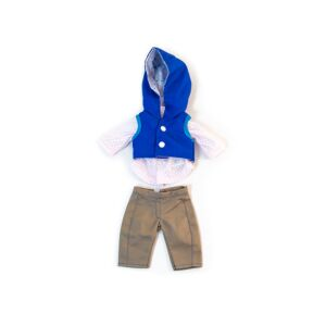 Mild weather navy set 12 5/8""