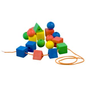 Lacing Shapes (60 pieces)