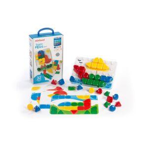 Superpegs Mini (32 pieces) - Primary Colors