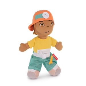 Diversity Fastening Soft Body Doll Hispanic Boy