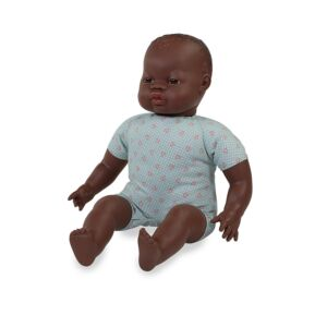 Soft body dolls african 15¾""